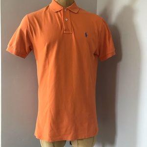 POLO Ralph Lauren Orange Polo T-Shirt Men's Sz M